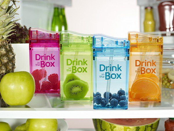 This reusable juice box, discovered by The Grommet, is an eco-friendly and cost-efficient alternative to the disposable juice box.