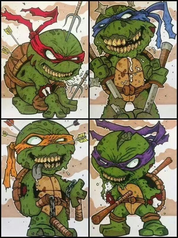 D Ef D B E B D Teenage Mutant Ninja Turtles Old School additionally Af D F C D F Fc A moreover The Lion King furthermore Ewok together with And Carley Devoured. on zombie eat cartoon