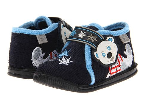 Foamtreads Kids Davos (Toddler/Little Kid) Navy/Light Blue - Zappos.com Free Shipping BOTH Ways