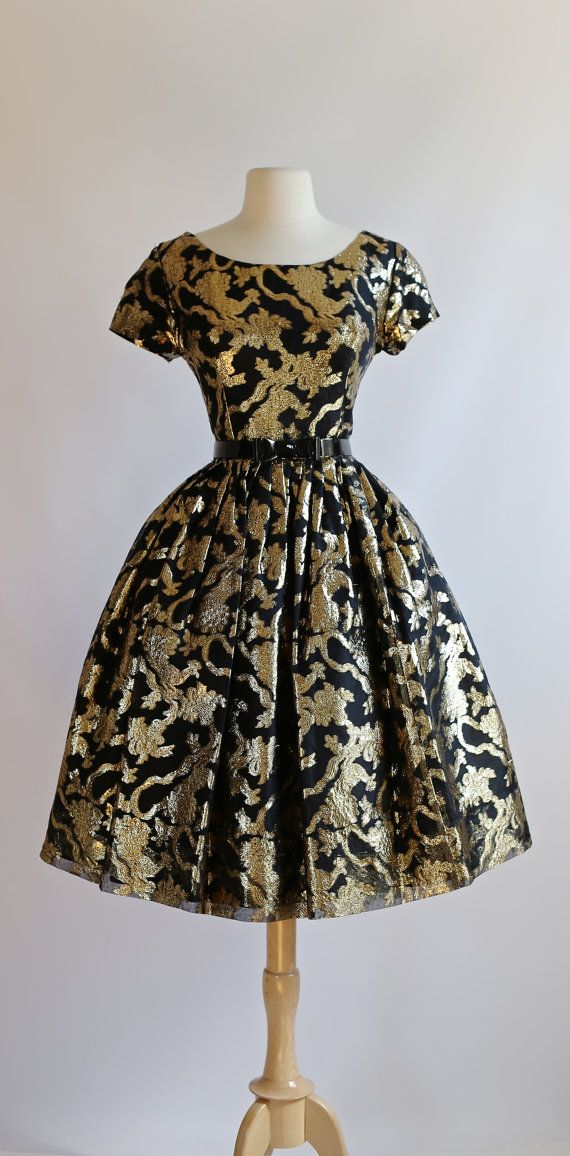 Vintage 1950's Suzy Perette Party Dress  Vintage by xtabayvintage