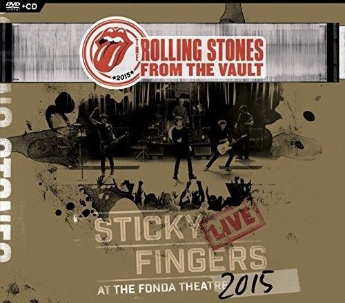 The Rolling Stones - From The Vault - Sticky Fingers: Live At The Fonda Theater 2015 [New CD] With DVD, Digipack Packaging Artist: The Rolling StonesT... #live #fonda #theater #fingers #sticky #stones #from #vault #rolling