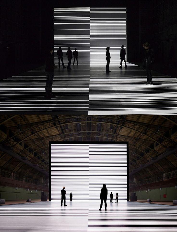 transfinite at Park Avenue Armory / Ryoji Ikeda