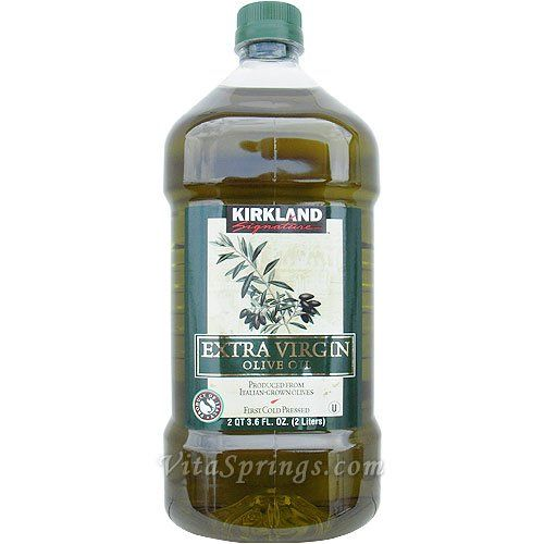 Virgin Olive: Kirkland Extra Virgin Olive Oil