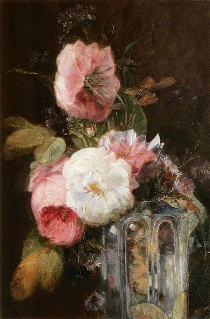 Beautiful flowers in a vase Stil-life Flowers James Holland