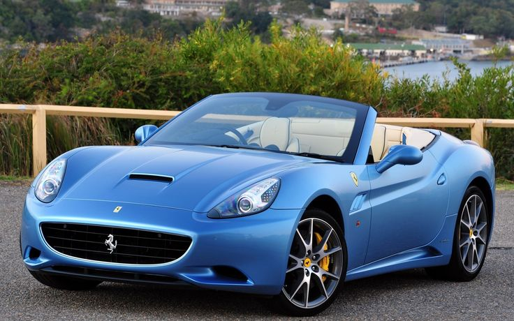 Ferrari California - saw this car all over monte carlo. Not sure it would look as beautiful in downtown Atlanta
