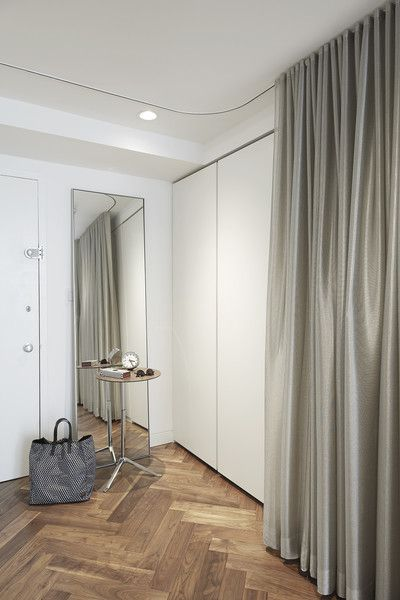 43 best ceiling & wall mount single curtain tracks & rails images