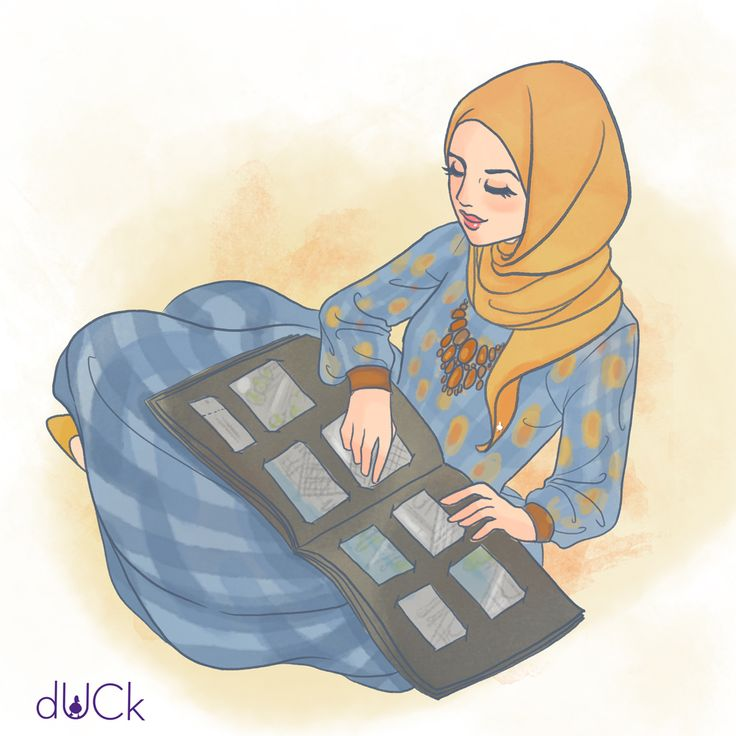 Duckscarves instagram illustration by Soefara