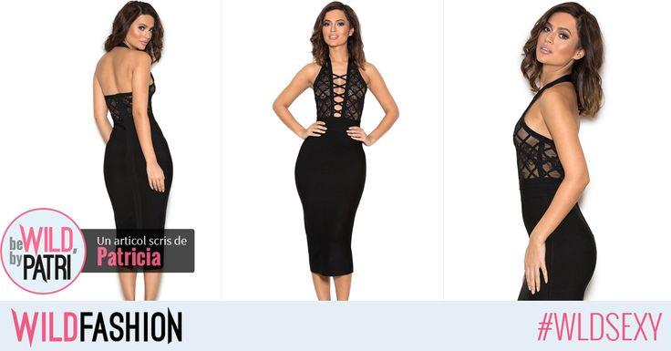 Un look sexy de seara se rezolva simplu cu o rochie eleganta neagra. Ce parere aveti?