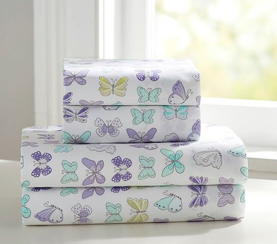 Butterfly Organic Sheet Set