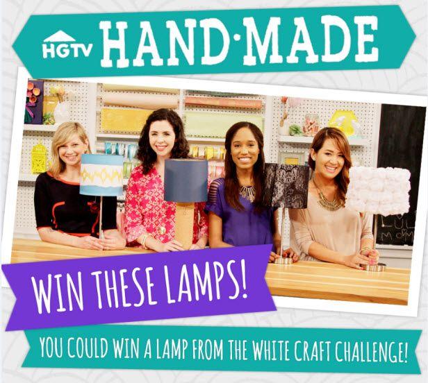 Win a Lamp From HGTV Handmade! (http://blog.hgtv.com/design/2014/07/25/freebie-friday-win-a-lamp-from-hgtv-handmade/?soc=pinterest)Hgtv Design, Hgtv Handmade, Blog Designs, Design Blog