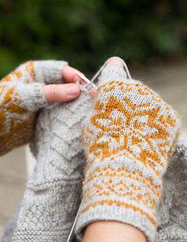 553 best Fair Isle/Stranded Hats, Mitts, Gloves images on ...