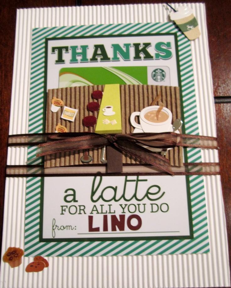 Lino's gift for his Preschool Teacher for Thanksgiving.