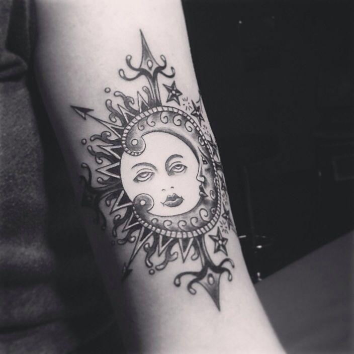 sun and moon mandala