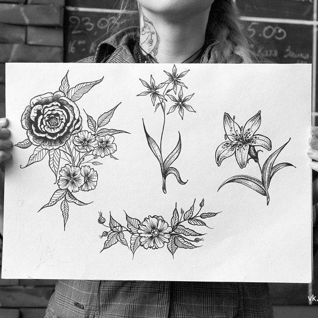 Новые свободные эскизы. большой букет 6 т.р., остальные по 4 т.р. Все вопросы в личку. #татуэскиз #тату #эскиз #цветы #пионы #лилия #шиповник #роза #пион #ботаника #флеш #злова #аврора #tattoo #flash #sketch #fresh #flower #floral #rose #peony #auro   Flickr - Photo Sharing!