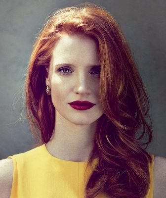 Jessica Chastain red hair inspiration