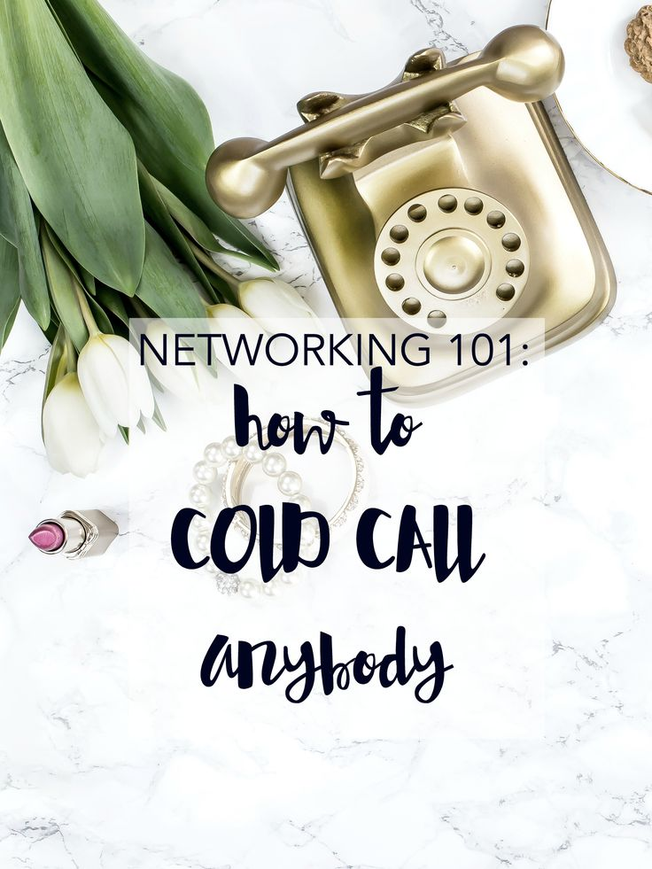 Scared to pick up the phone? Learn to cold-call anybody. Click through to learn how to phone anyone and cold-call until the cows come home.