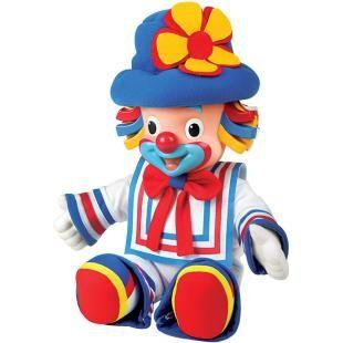 Boneco Multibrink Patati Patatá - Patati, lindo boneco em miniatura do palhaço Patati, para a diversão das crianças.    Patati Patatá são a dupla de palhaços que conquistou o coração das crianças com roupas alegres e músicas empolgantes.