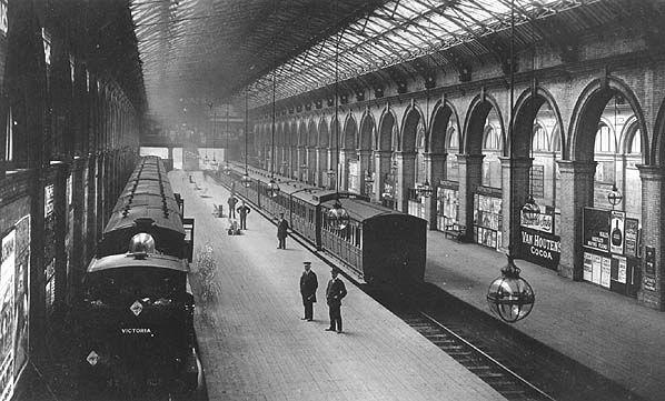Crystal Palace High Level station, 1908