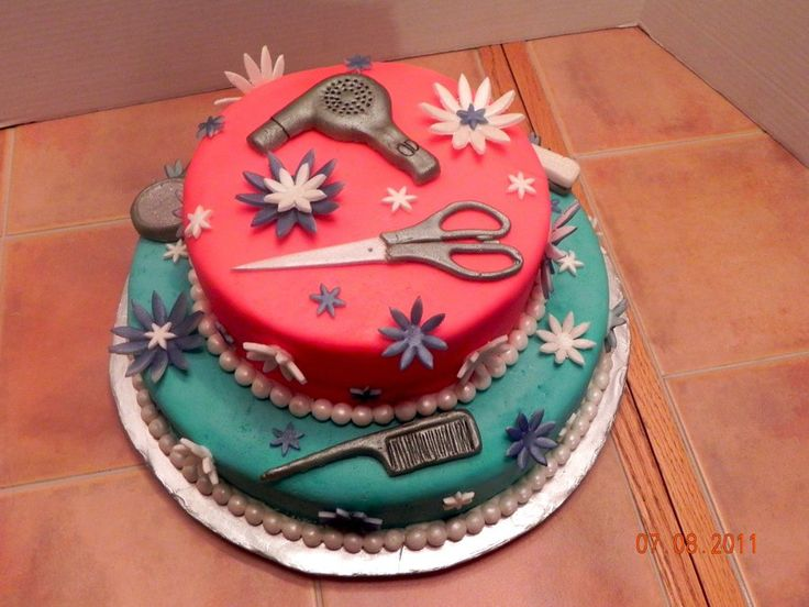 15 Best Beautician Cakes Images On Pinterest Hair