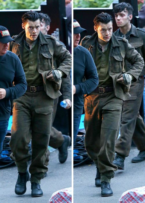 """liam-harry: """" """"Harry on the set of Dunkirk - 26 July 2016 """" """""""