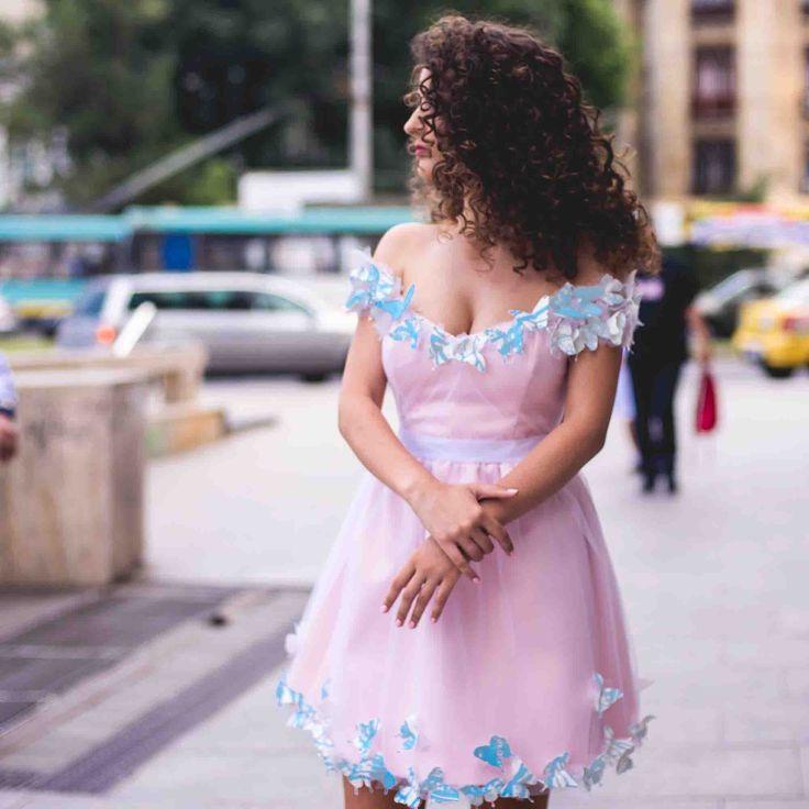 Safen | Rochie Poveste cu Fluturi Colorati | Rochie de mireasa