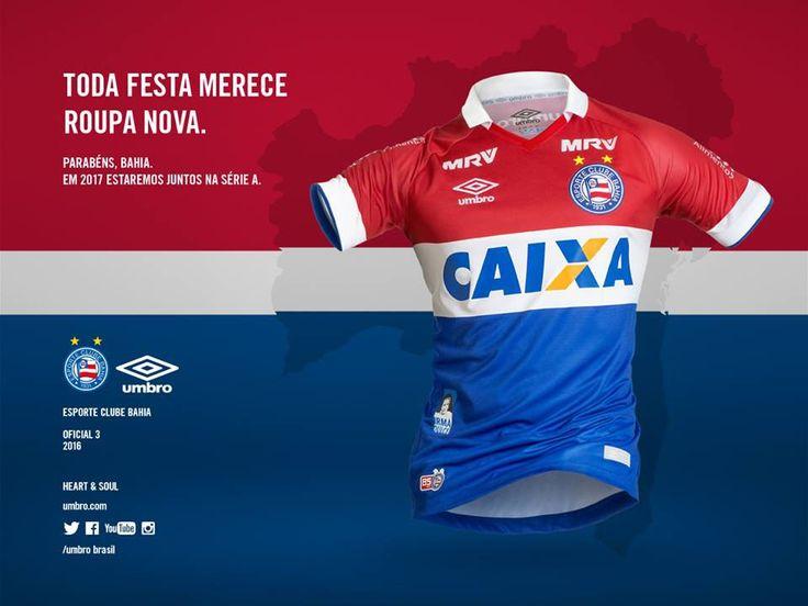 Terceira camisa do Bahia 2016-2017 Umbro