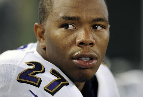 FILE – In this Aug. 7, 2014, file photo, Baltimore Ravens running back Ray Rice sits on the sideline in the first half of an NFL preseason football game against the San Francisco 49ers in Baltimore. National Football League (NFL) Executive Vice President of Football Operations...  http://usa.swengen.com/vincents-stand-against-domestic-abuse-is-painful-personal/