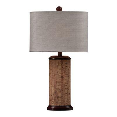 Westmore Lighting Cork Table Lamp