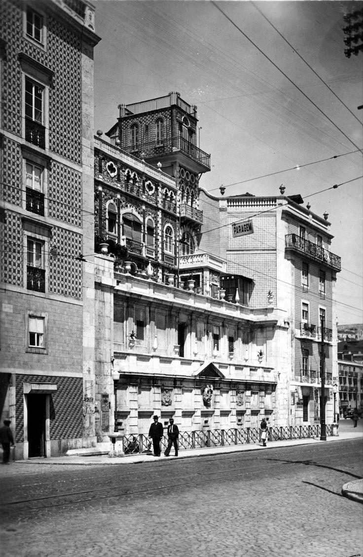 Rua Cais de Santarém, Palacete das Ratas, 1930