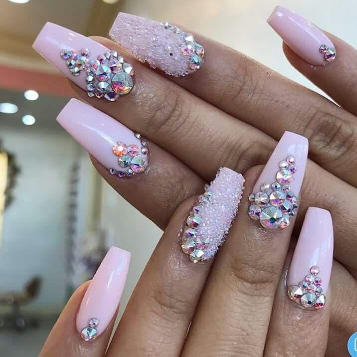Uña acrílica 😍 | Arte de uñas de gel, Manicura de uñas ...