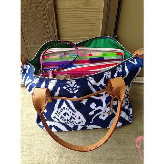 Best teacher bag ever! www.stelladot.com/sites/sylviacuff #stelladotbysylvia #stelladotstyle #newschoolyear