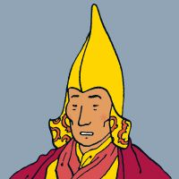 Grand Precieux - Chef spirituel du monastère de Khor-Biyong (Haddock l'appelle: Grand Sachem, Grand Vizir, Grand Mufti, Grand Mogol, Grand Bazar, Grand Trésor, Grand Turc)