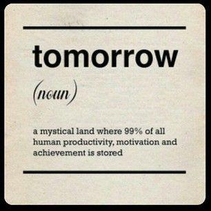 tomorrow quote
