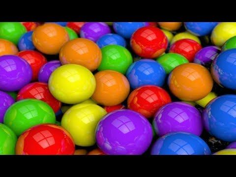 Learn colors with Baby and balls - Car Truck Toys Playground Ball Pit Colours For Kids - YouTube
