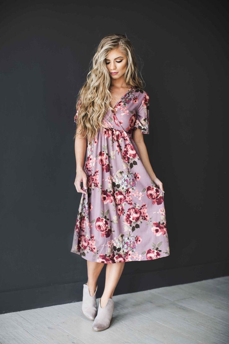 Shopjessakae.com get $5 off with promo code ClaireLindsey5 floral dress, blonde, jessakae, easter dress, spring dress, midi dress, fashion, style, hair