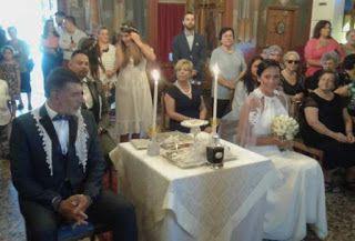 Γαμπρός και νύφη κάθισαν στο γάμο τους  Η εξήγηση των ιδιαίτερων εικόνων