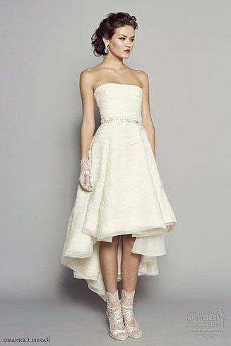 Vestido de noiva festa simples