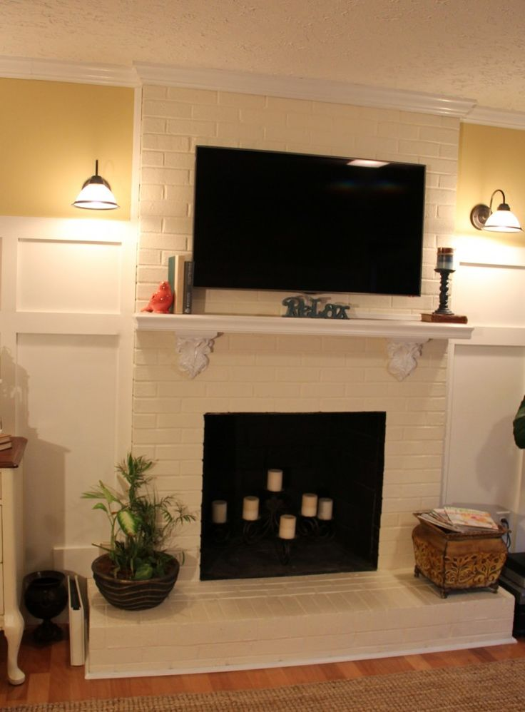 Family Room Makeover (from 70's dark -- before and afters in the link!)  artsychicksrule.com