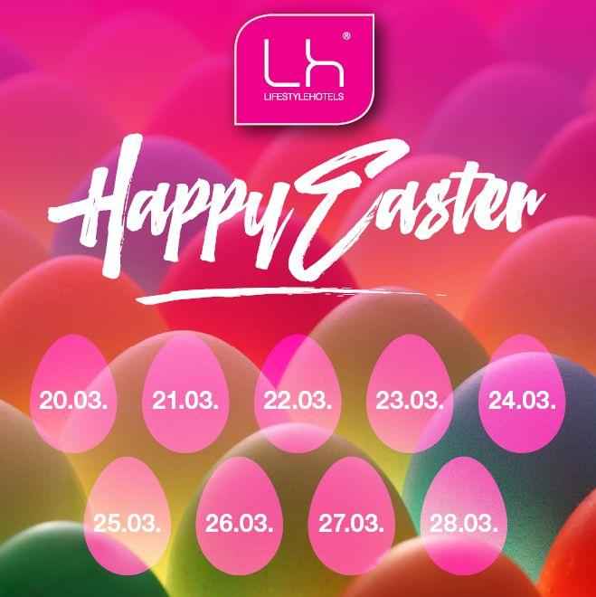 LIFESTYLEHOTELS   Easter Calendar