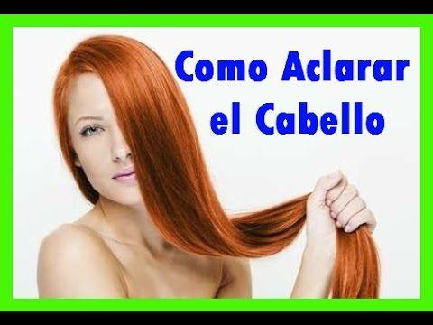 C mo aclarar el cabello naturalmente con remedios caseros - Como aclarar el pelo en casa ...