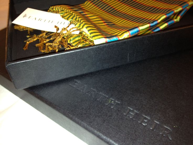 Handmade Earth Heir gift boxes - all our packaging is recyclable and biodegradable
