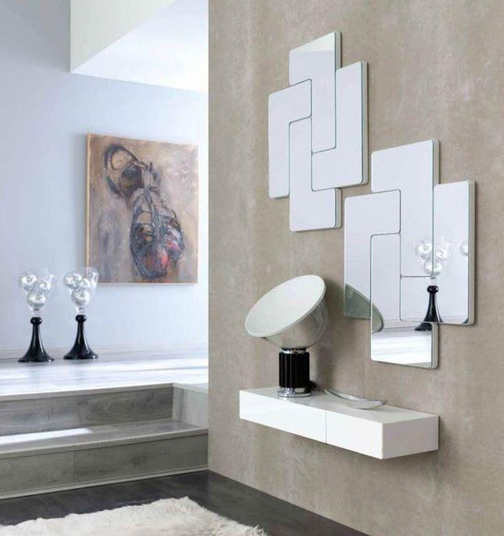 Espejo Moderno De Cristal Espejos Originales