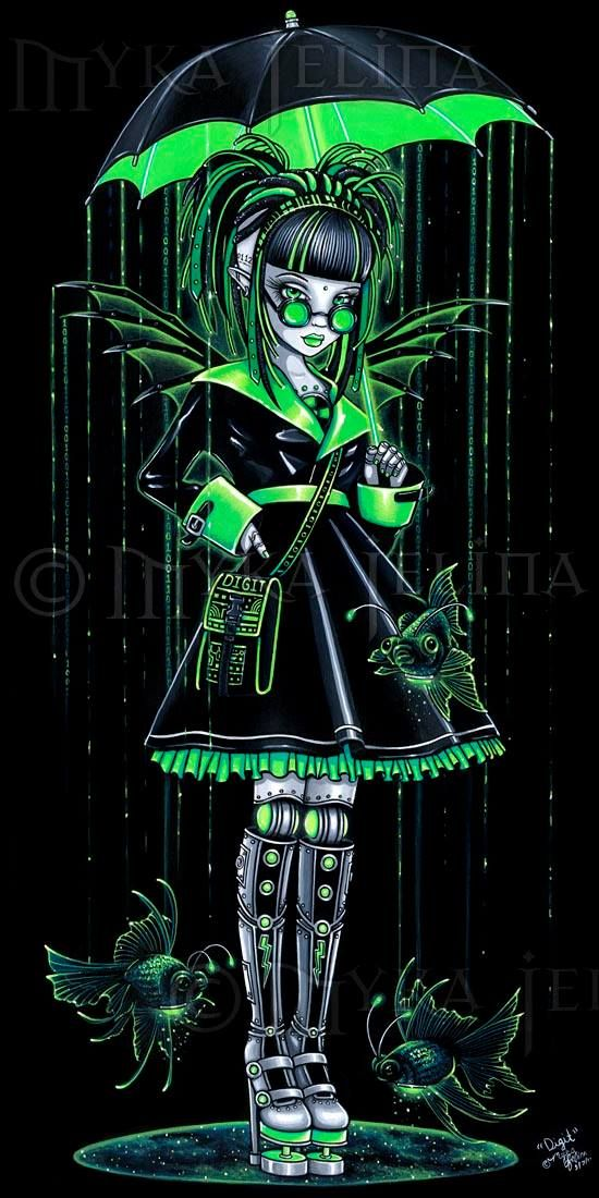 Gothic fantasy artist                                                                                                                                                                                 More
