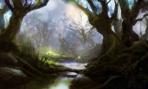 Mystic forest by PE Travers ~ I wish I could slow life down like it was in younger years and richly 'play' again. http://slannyndarcy.com