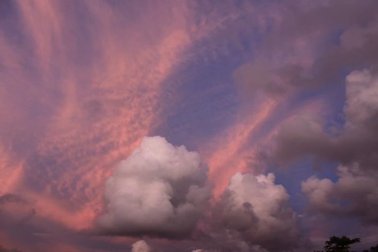 Cooton Candy Cloud (Sawarna Beach) Indonesia
