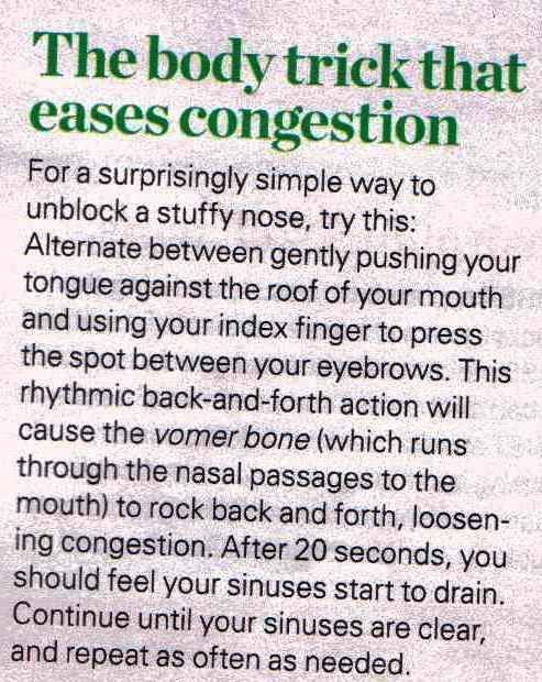 The 25 Best Nasal Congestion Ideas On Pinterest Clear