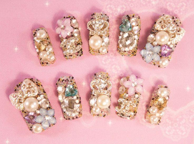 179 best 3D nail art images on Pinterest | 3d nail art, 3d nails and ...
