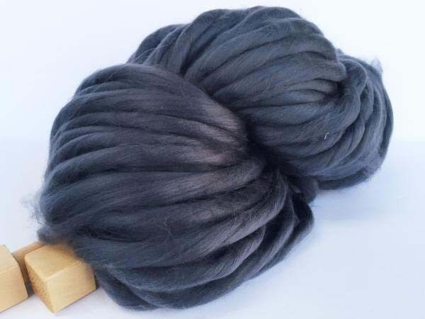 This beautiful super chunky yarn is great for chunky knitting. It is 100% acrylic, easy to take care for: can be washed in cold water and lay flat to dry It is super soft and very gentle to touch. Per