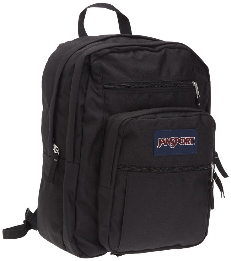 JanSport Big Student Backpack, Black *** Continue to the product at the image link.