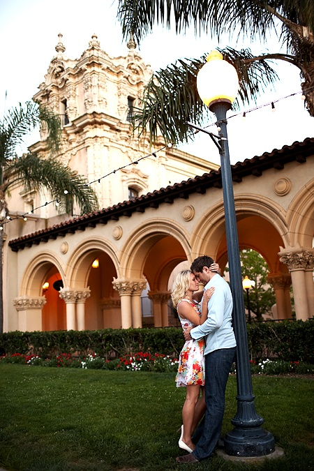 Balboa Park. Great background with wonderful architecture.